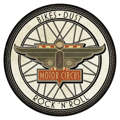 MotorCircus Sticker Rock´n´Roll