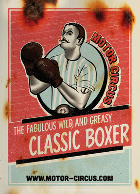 MotorCircus Sticker ClassicBoxer