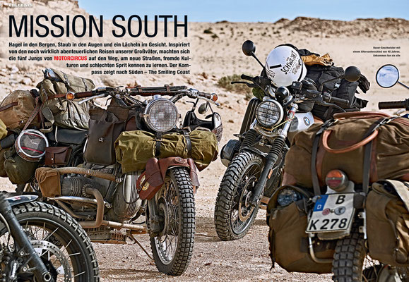 Motorradmagazin Mission South Motor Circus