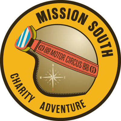 Motor Circus Mission South sticker