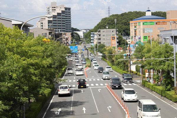歴博通り北山田方面