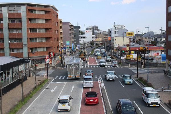 日吉元石川線北山田