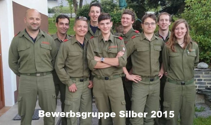 Bewerbsgruppe Silber 2015