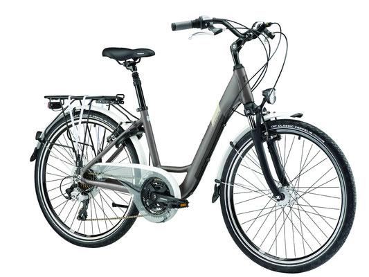 vélo dame ville