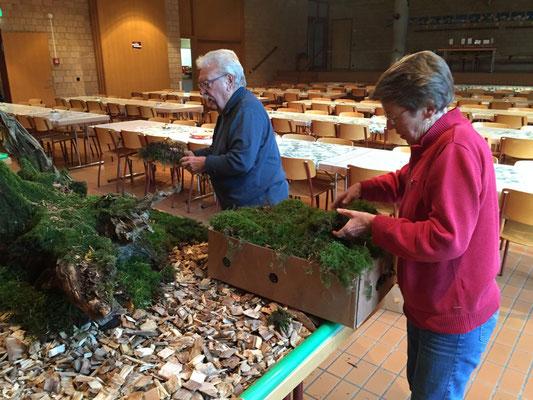 50 m2 Moss wurden zuvor gesammelt und .....