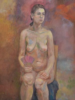 Nude (gouache) 50*60