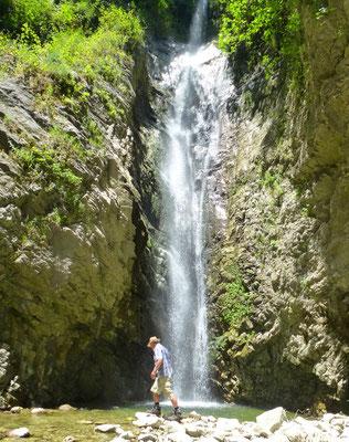 Wasserfall wandern Kalabrien
