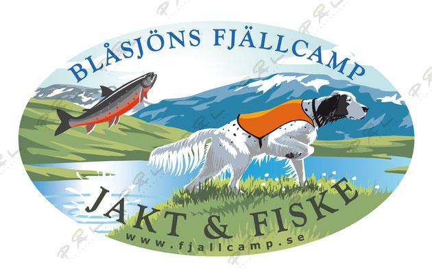 Blåsjöns fjällcamp, Jämtland