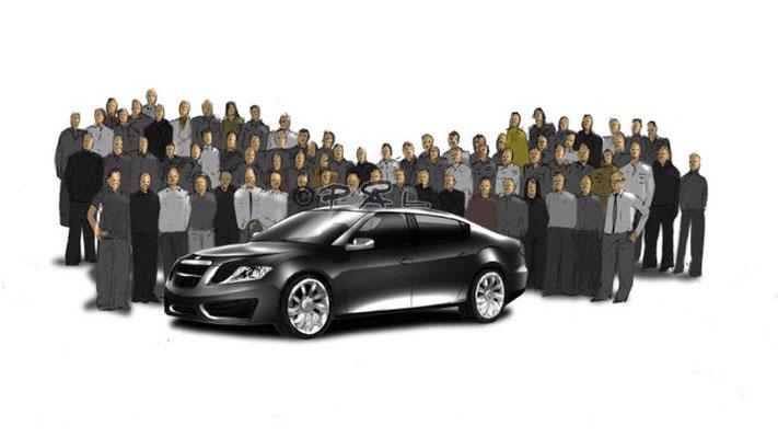 Saab, Lowe Brindfors