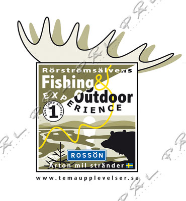 Rörströmsälvens Fishing & Outdoor Experrience, Rossön, http://www.temaupplevelser.se/