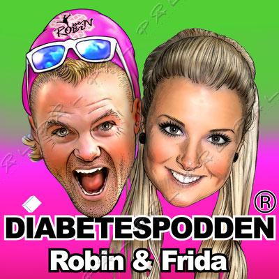 Diabetespodden med Robin Bryntesson & Frida Linner. Intressant för den som är diabetiker, anhörig eller bara allmänt intresserad av sjukdomen diabetes.