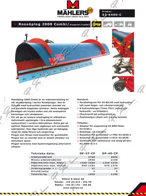 Produktblad, Foto/Design/Layout för Mählers, http://mahlers.se/