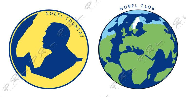 """Grafisk symbol för regionen """"Östersjön"""". Den regionen som Alfred Nobel verkade och hade som hemmabana...rätta mig om jag har fel!?"""