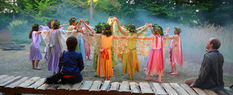 Xang im Ried, Freilichttheater von Paul Steinmann, Regie: Roland Lötscher, Elfen, 2008