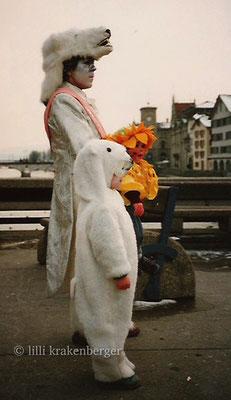 """Fasnacht Kinderkostüm """"Lars, der kleine Eisbär"""" 1993"""