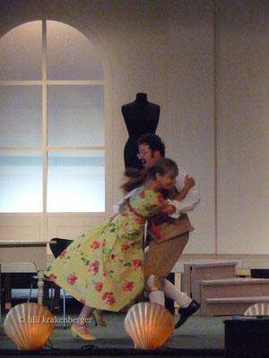 Wiener Blut, Operette Hombrechtikon, Regie: Volker Vogel, Dienerschaft, 2008