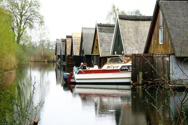 Bootshäuser an der Müritz