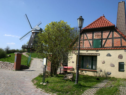 Weg zur alten Mühle in Röbel