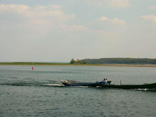 Fischerboote auf der Müritz