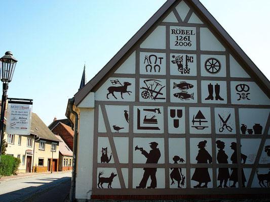 Handwerker Haus in Röbel