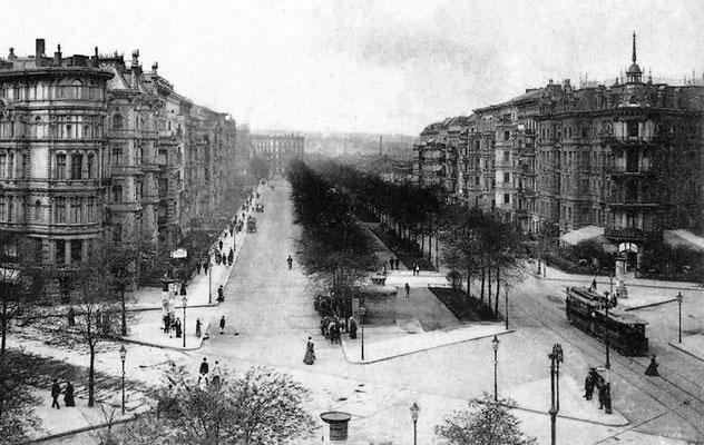 Straßenansicht / Street View 1890