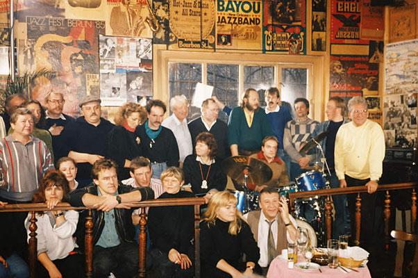 "Dreh zum ""Tatort"" mit Günter Lamprecht, ca. 1990"