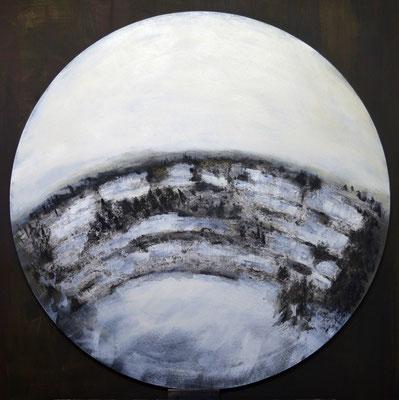 C.d.V. sous la neige - TM - Diam. 90 - N. 8