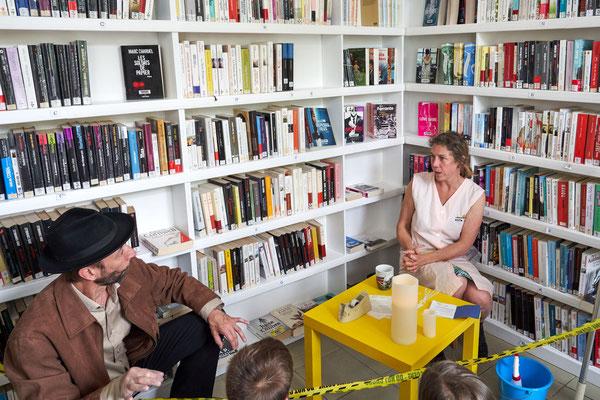 """L'Enquête en Médiathèque"""" - Bibliothèque d'Houdain"""