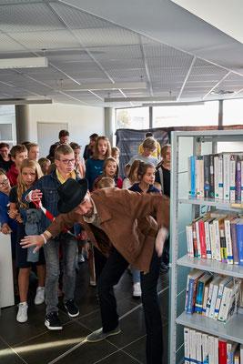 """""""L'Enquête en Médiathèque"""" - Médiathèque de Sequedin (59)"""