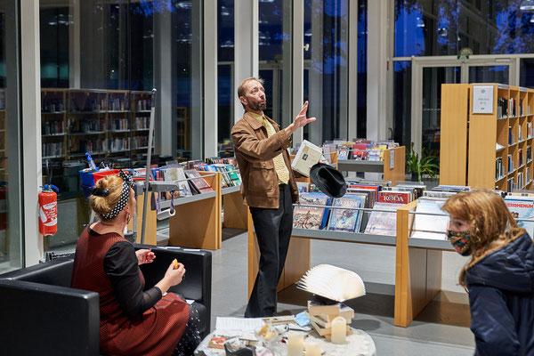 """L'Enquête en Médiathèque : """"Le Crime de la Nuit des Bibliothèques"""" - L'Odyssée de Lomme (59)"""