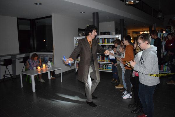 """""""L'Enquête en Médiathèque"""" - Nuit de la Lecture - Médiathèque d'Angres"""