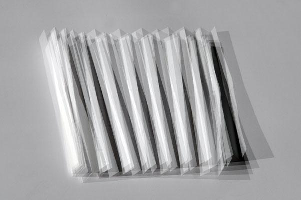 Mein weißes Blatt Papier - Tisch der Exitenz #06, 2017