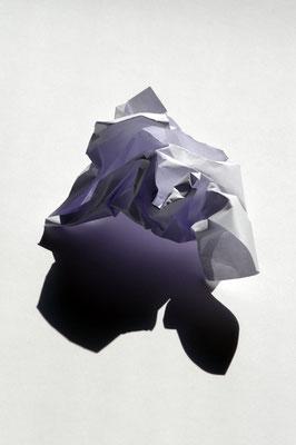Mein weißes Blatt Papier - Tisch der Exitenz #02, 2017