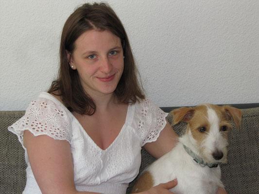 Janina und Benelli :-) Streicheleinheiten für die Mami :-D