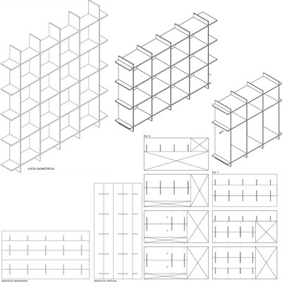 Isometrica Estanterias CNC