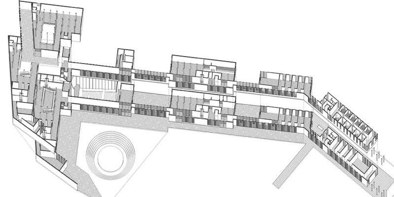 Isometrica Centro Cultural Arq. Arturo Santana