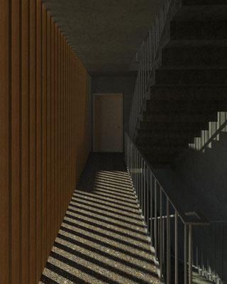 Caja de escalera  D. Bim Arquitectura Uc