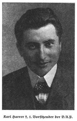 Karl Harrer.