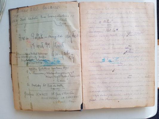 Páginas del manuscrito de Eddy de Wind. The Moderate Voice