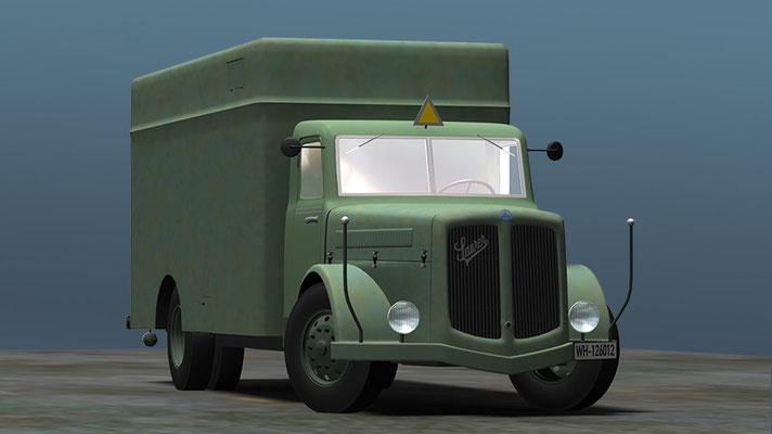 Saurer Gaswagen