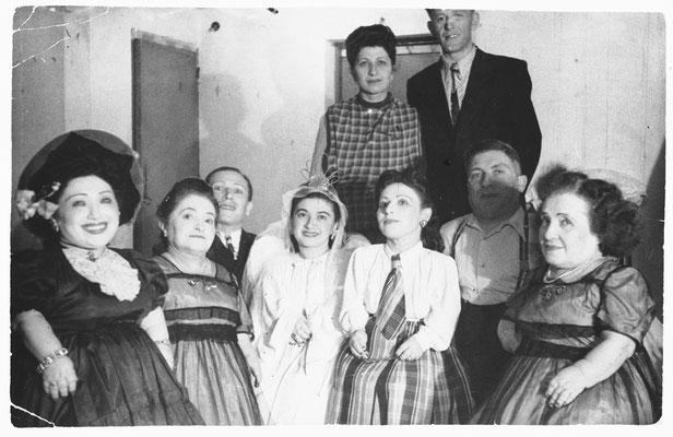 La familia Ovitz en 1950.