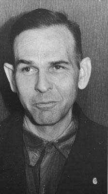 Amon Göth poco antes de su ejecución.