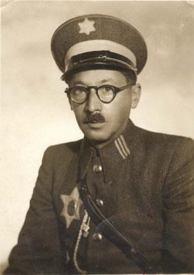 Symche Spira era el terrible responsable de la policía judía de Cracovia.