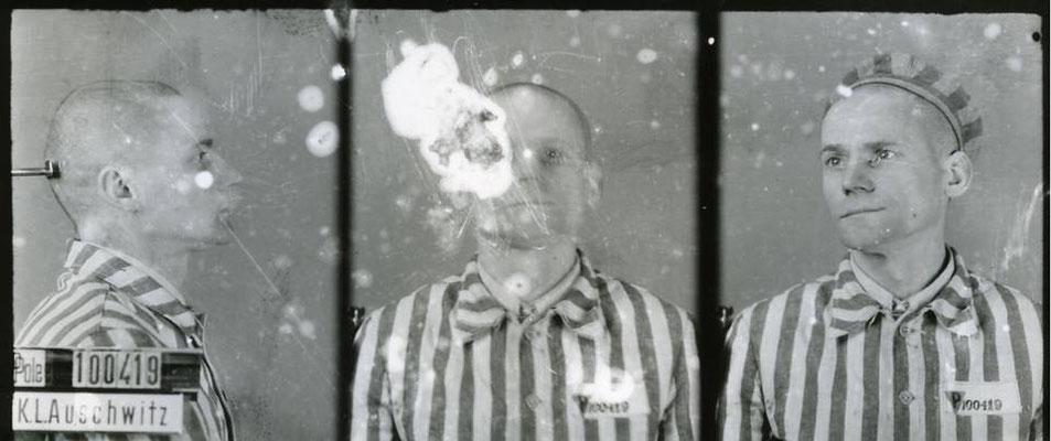 Edward Pasdor (100.419) uno de los escapados. La foto es cortesía de los Archivos Nacionales.