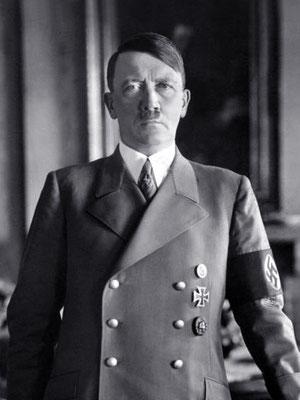 Adolf Hitler 1938. Bundesarchiv, Bild 183-H1216-0500-002 .