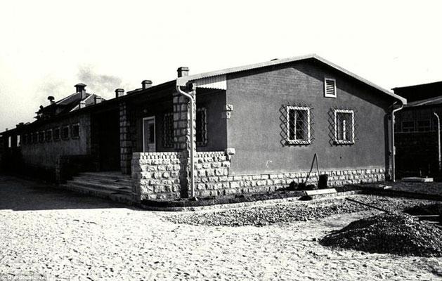 Burdel del campo de concentración nazi alemán de Mauthausen. Daily Mail