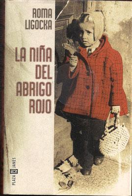 """Portada del libro en español: """"La Niña del abrigo rojo""""."""