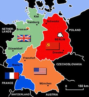 Otros 115 km de muro rodeaban todo el Berlín Oeste (West-Berlin o Westberlin) aislándolo por completo de la República Democrática Alemana (RDA/DDR).