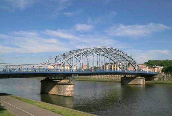 Puente Kościuszko (puente IV), actualmente el Puente Józef Piłsudski.