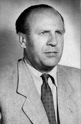 Oskar Schindler después de la guerra.